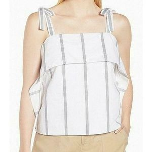 Nordstrom Signature Small Women's Blue White Top